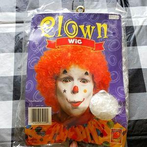 Halloween White Wig NWT